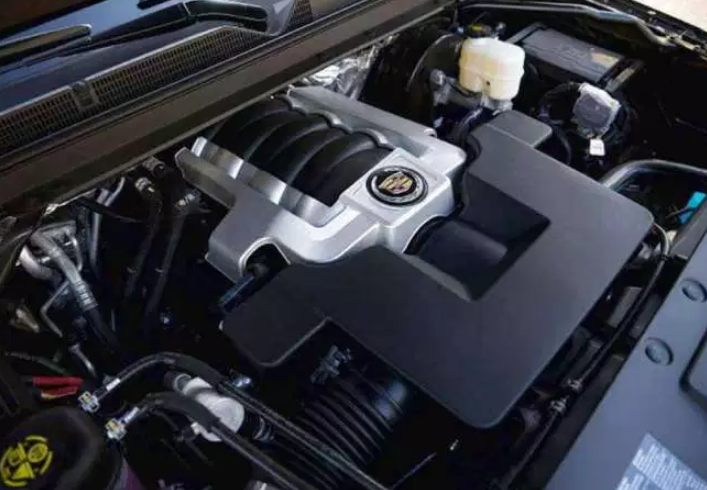 2021 Cadillac CT8 Engine