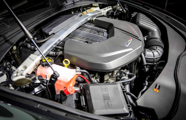 2021 Cadillac CTS-V Engine