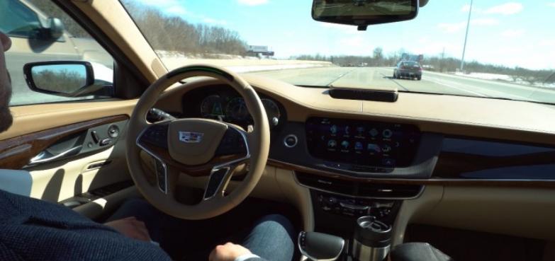 2021 Cadillac CT3 Interior