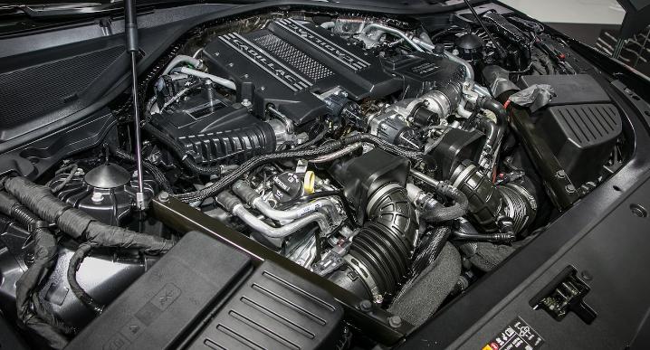 2021 Cadillac CT6 Engine
