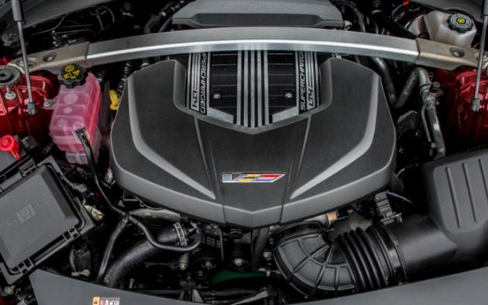 2021 Cadillac CT2 Engine