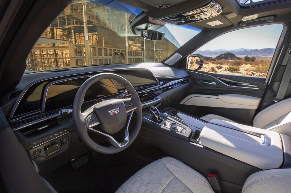 2021 Cadillac Lyriq Interior