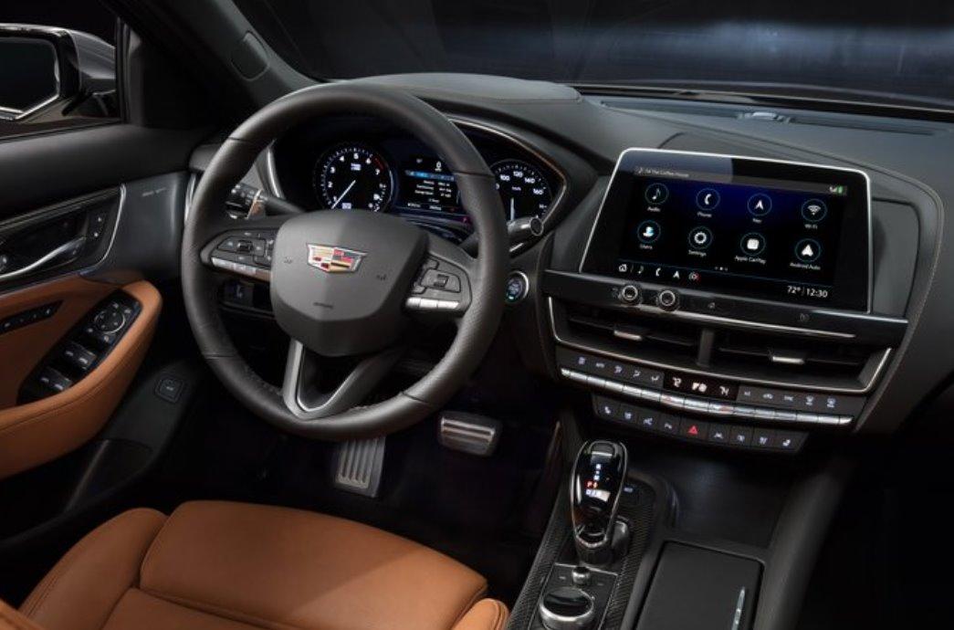 2022 Cadillac ATS Interior