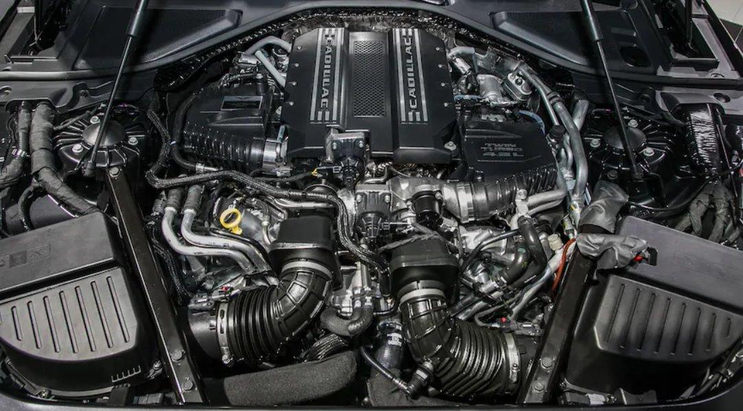 2022 Cadillac CT6-V Engine