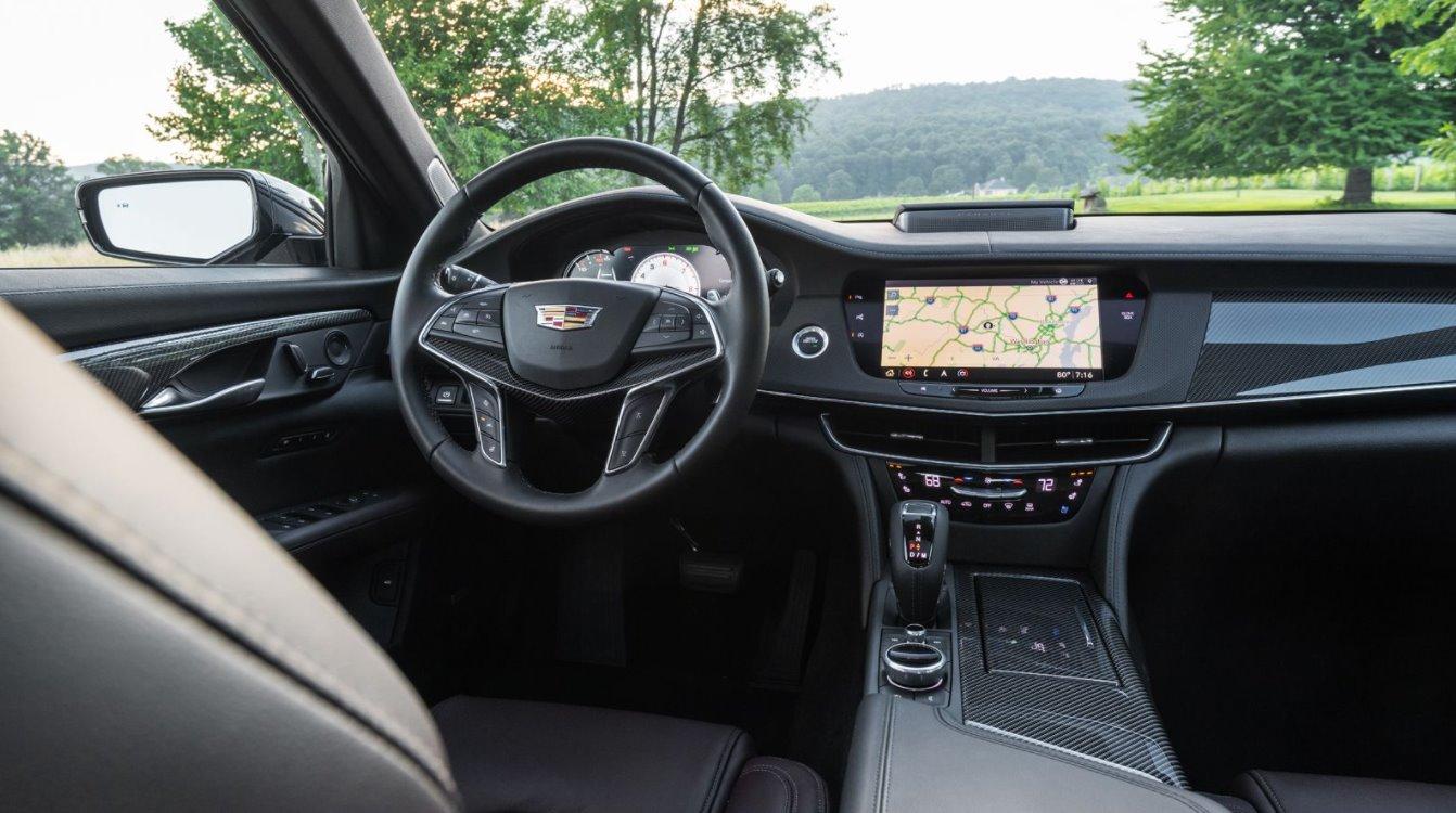 2022 Cadillac CT6-V Interior