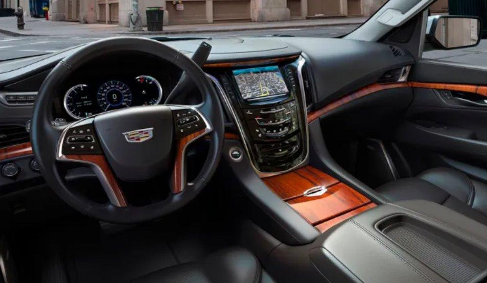 2022 Cadillac Escalade ESV Interior