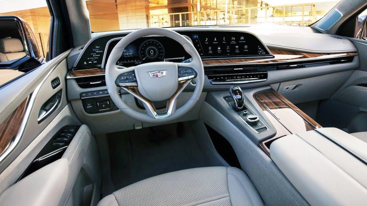 2022 Cadillac Escalade Sport Interior